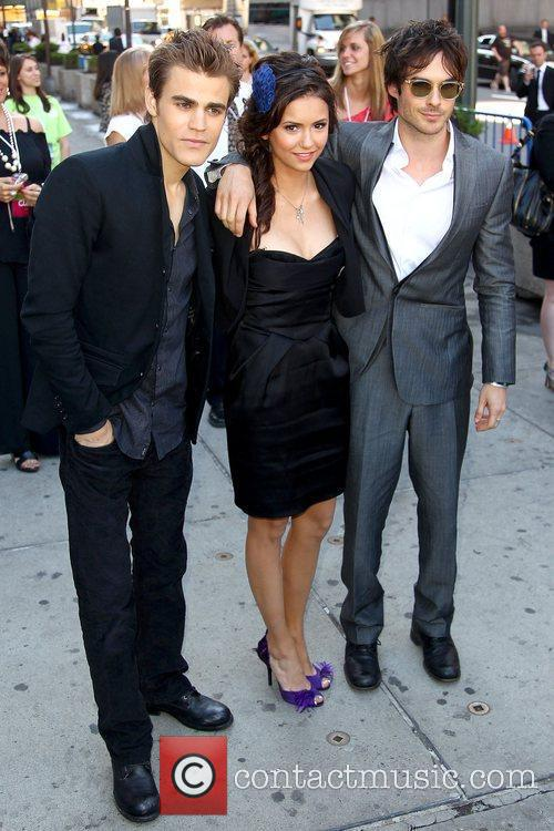 Paul Wesley, Nina Dobrev and Ian Somerhalder 2010...