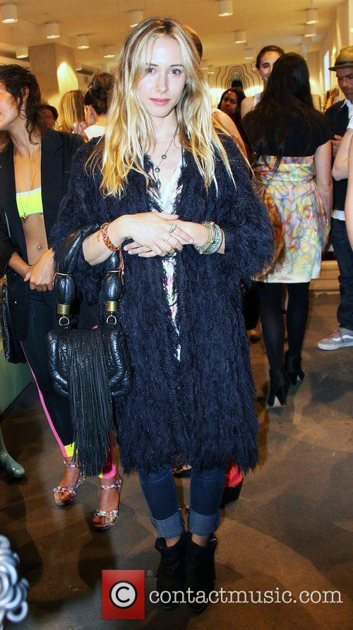 Gillian Zinser Launch party of Cynthia Rowley for...
