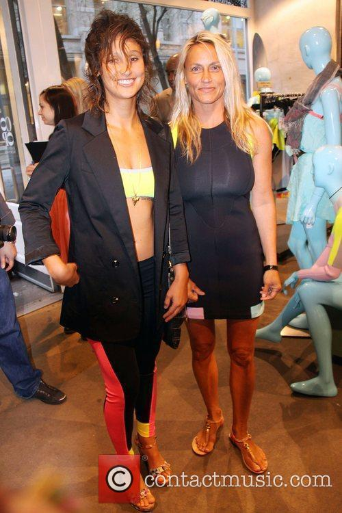 Lisa Anderson and Kassia Meador-Roxy Launch party of...