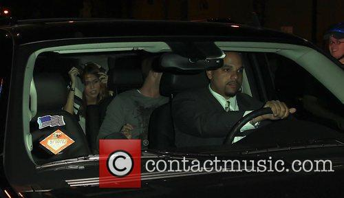 Miley Curus leaving Gemini 14 hairdressers New York...