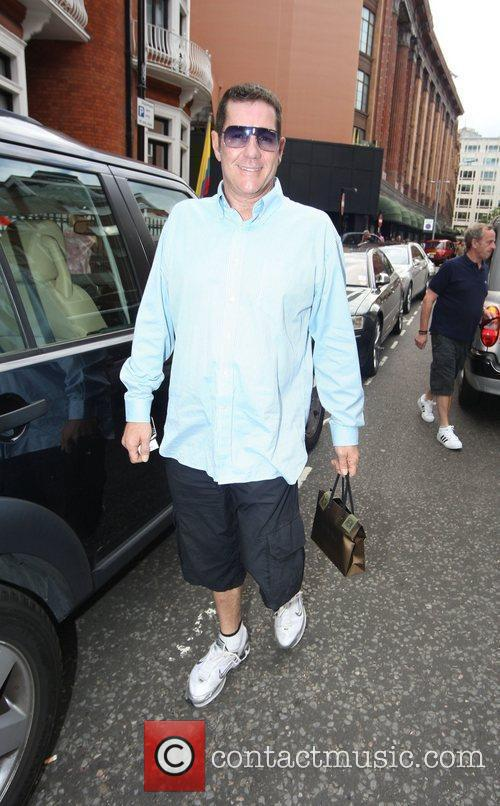 Dale Winton was spotted going to Harrods in...