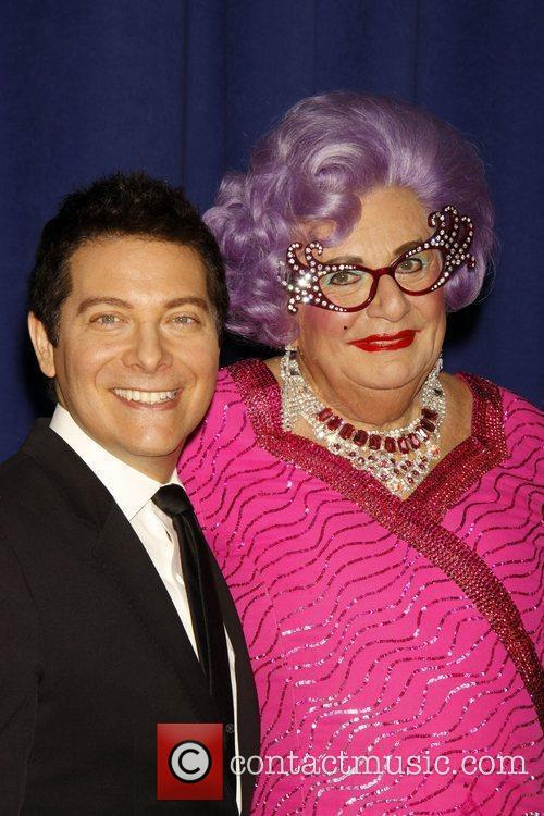 Dame Edna Everage and Michael Feinstein 5