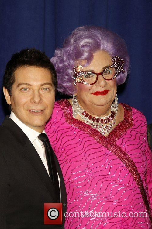 Dame Edna Everage and Michael Feinstein 12