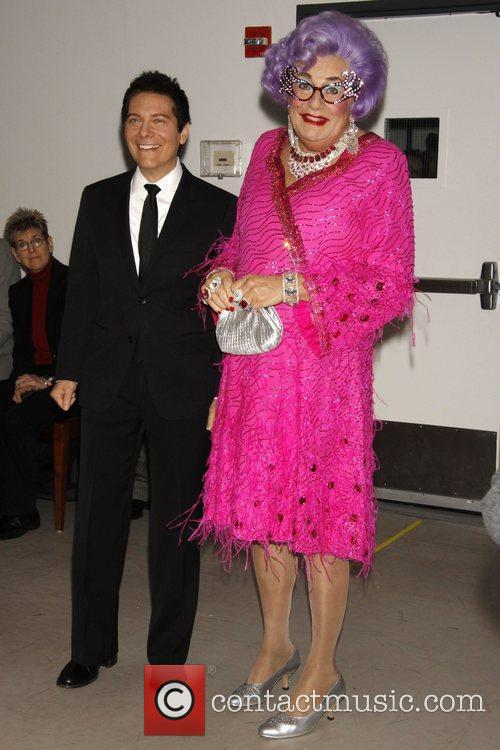 Dame Edna Everage and Michael Feinstein 6