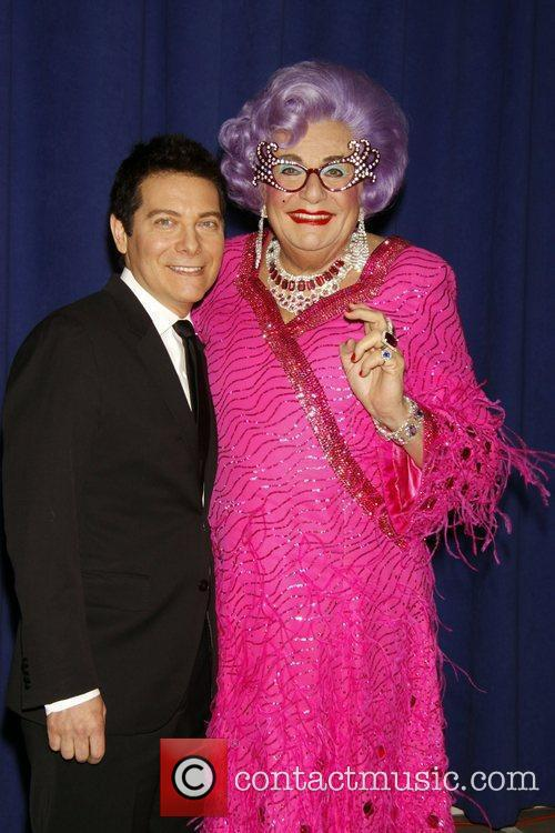Dame Edna Everage and Michael Feinstein 8