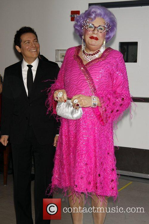 Dame Edna Everage and Michael Feinstein 10