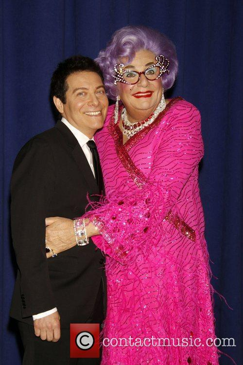 Dame Edna Everage and Michael Feinstein 2