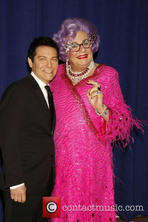 Dame Edna Everage and Michael Feinstein 9