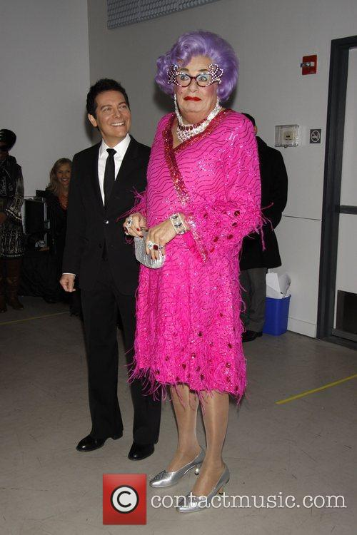 Dame Edna Everage and Michael Feinstein 11