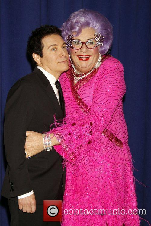 Dame Edna Everage and Michael Feinstein 7