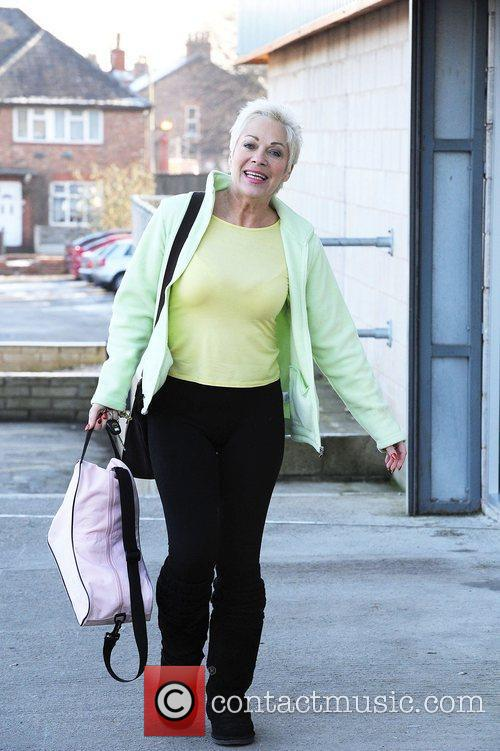 Denise Welch Dancing on ice stars leave the...