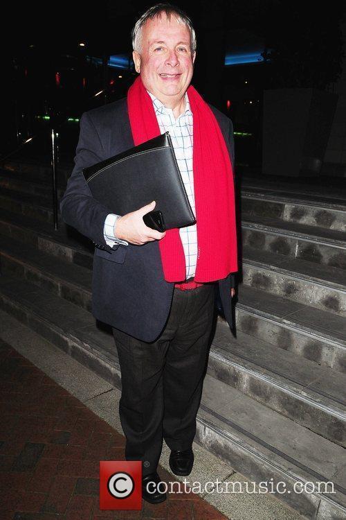 Christopher Biggins arrives at his Manchester hotel after...