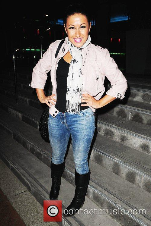 Hayley Tamaddon arrives at her Manchester hotel after...