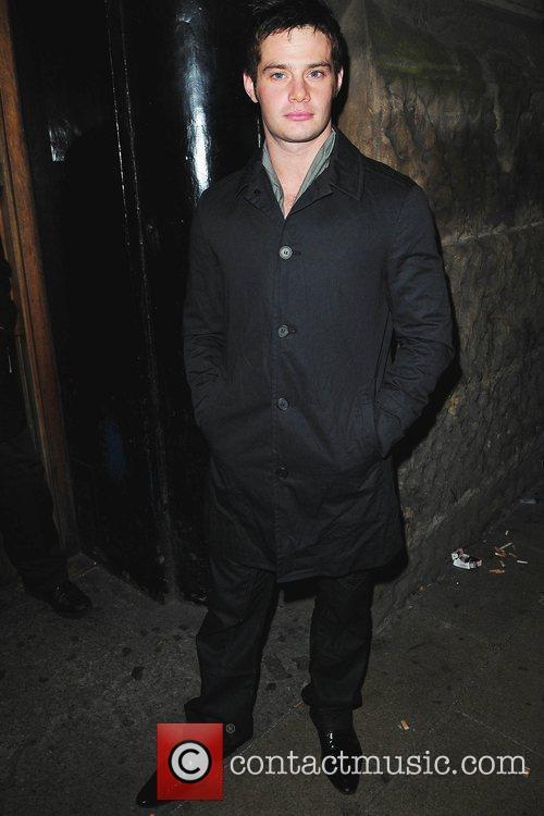 Danny Young  Kieron Richardson's party at Tribeca...