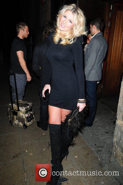 Amy Diamond  Kieron Richardson's party at Tribeca...