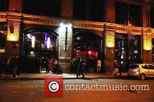 Atmosphere Kieron Richardson's party at Tribeca Bar to...