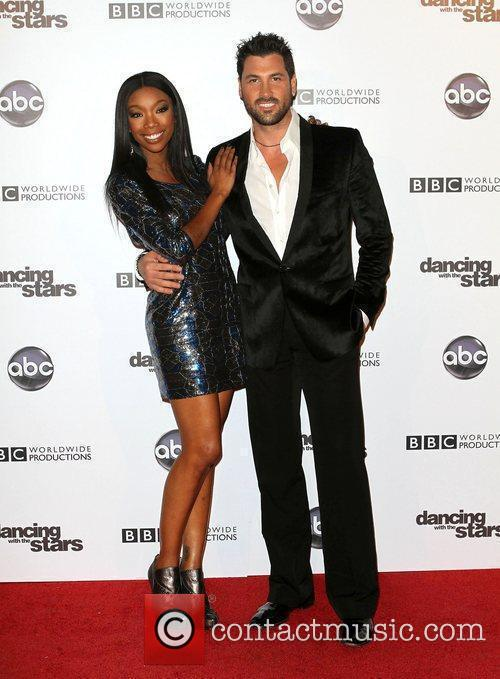 Brandy Norwood, Dancing With The Stars and Maksim Chmerkovskiy 2