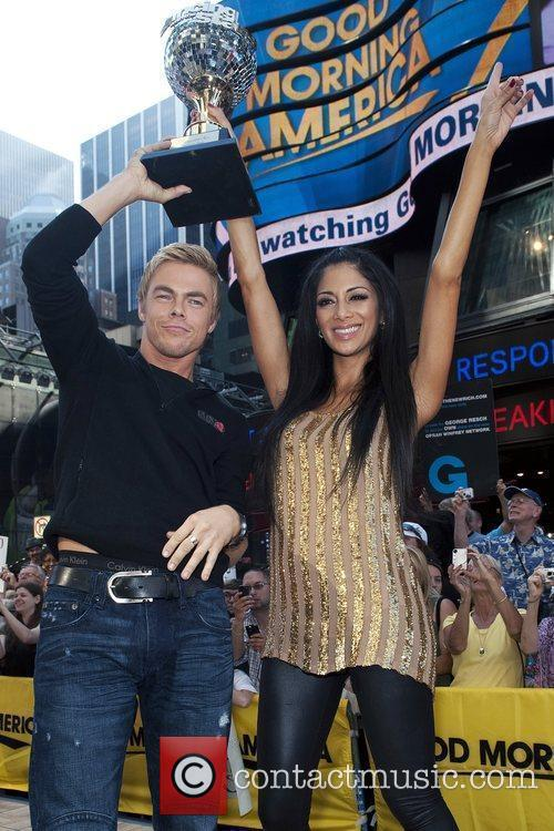 Derek Hough and Nicole Scherzinger 2