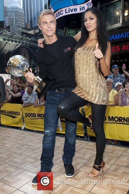 Derek Hough and Nicole Scherzinger 5