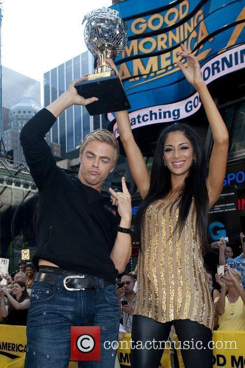 Derek Hough and Nicole Scherzinger 6