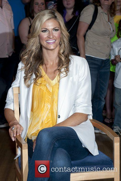 Erin Andrews appears on Good Morning America in...