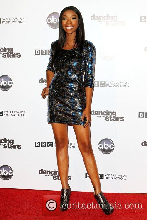 Brandy Norwood and Dancing With The Stars 10