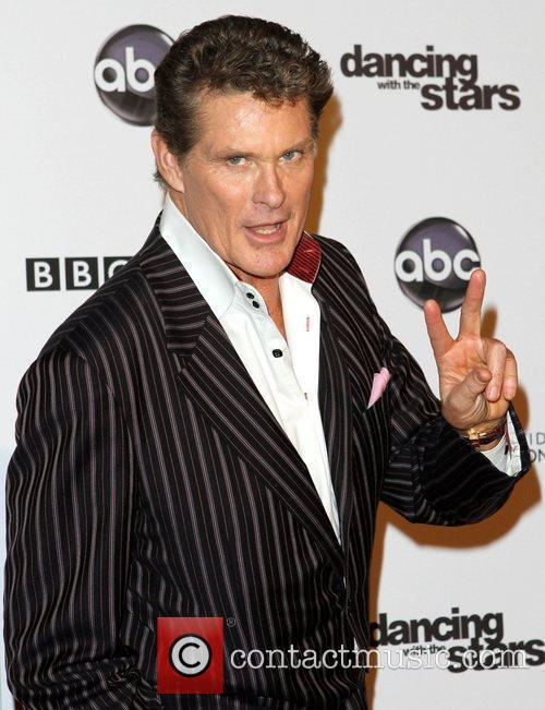 David Hasselhoff and Dancing With The Stars 1