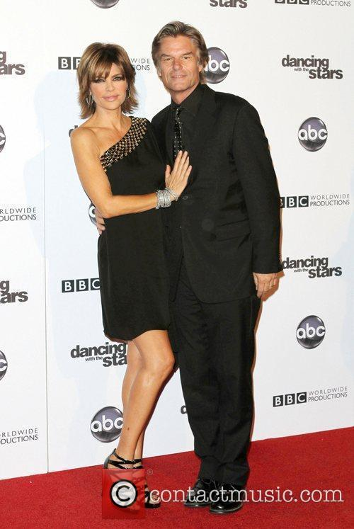 Lisa Rinna, Dancing With The Stars and Harry Hamlin 7