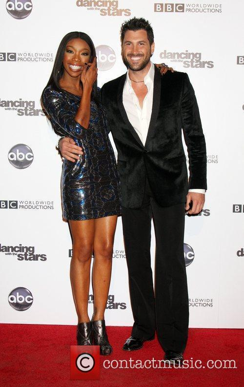 Brandy Norwood, Dancing With The Stars and Maksim Chmerkovskiy 8
