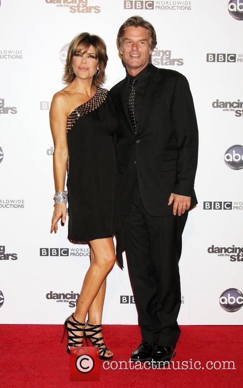 Lisa Rinna, Dancing With The Stars and Harry Hamlin 3