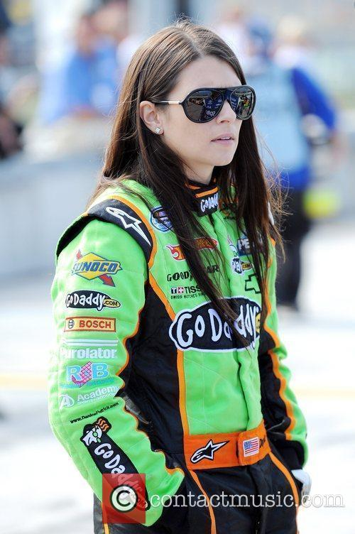 Danica Patrick appears during the Ford 300 Nascar...