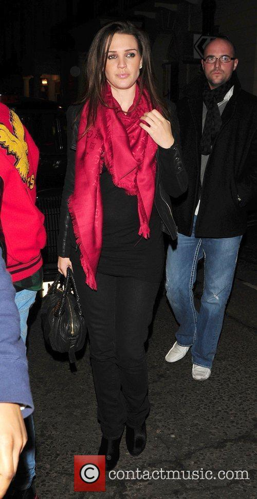 Danielle Lloyd leaving Whisky Mist Club