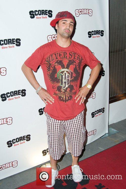 Paul Malignaggi Danielle Staub's Birthday Celebration at Scores...