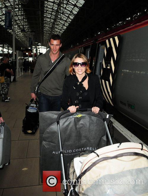 Dannii Minogue and Kris Smith 7