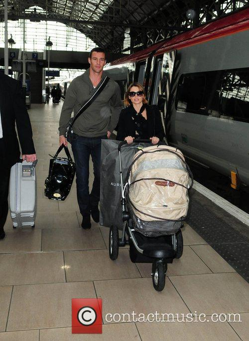 Dannii Minogue and Kris Smith 2