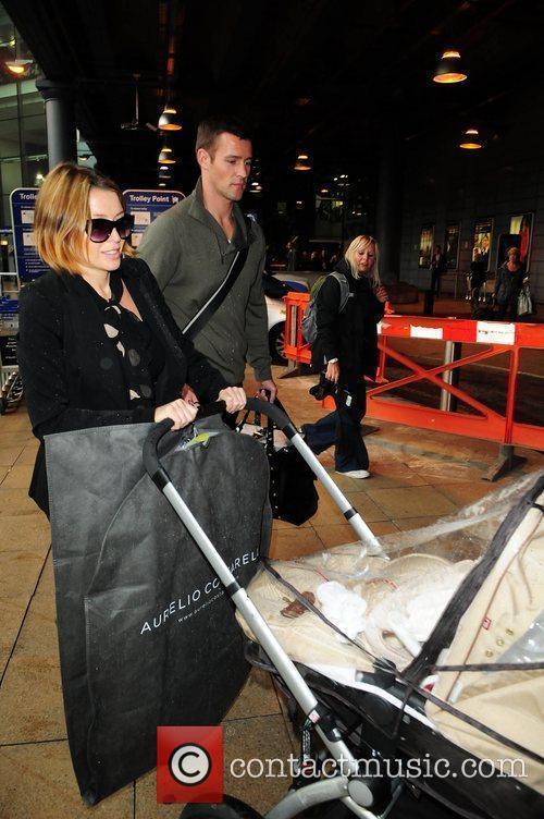 Dannii Minogue and Kris Smith 9