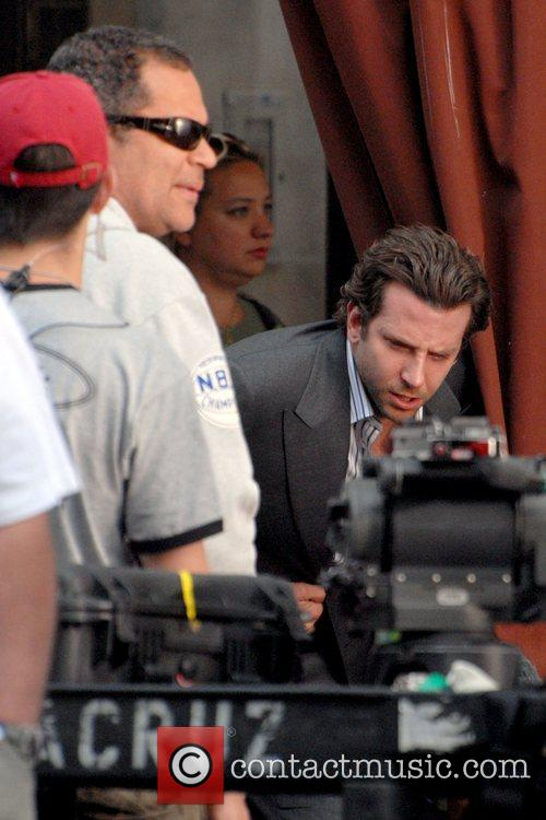 Bradley Cooper on the film set of 'The...