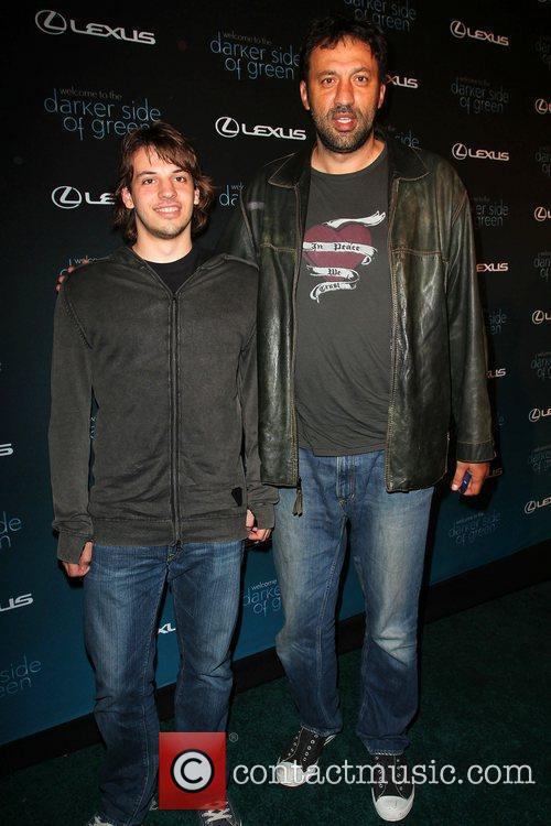 Vlade Divac and Andy Samberg 1
