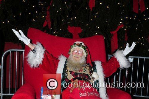 The South Street Seaport Christmas Tree Lighting Ceremony