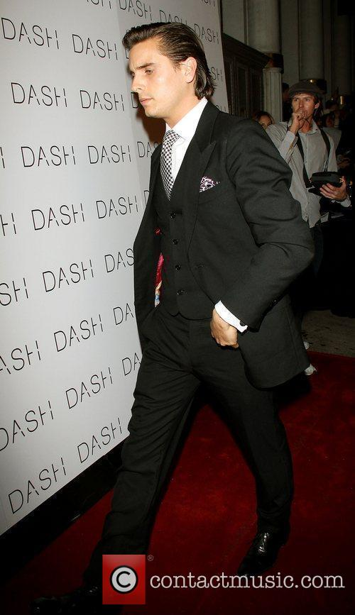 Scott Disick,  at the grand opening of...