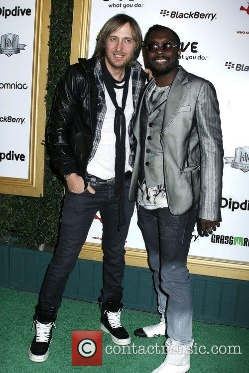 David Guetta and will.i.am of The Black Eyed...