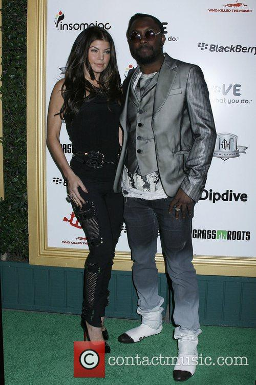 Fergie aka Stacy Ferguson and will.i.am of The...