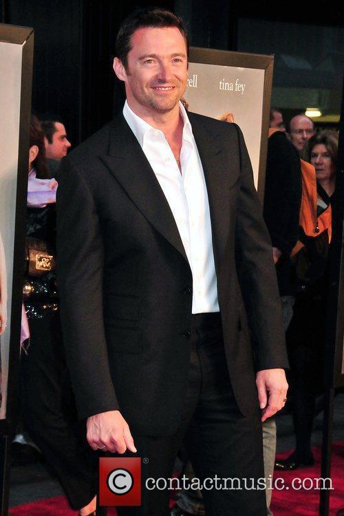 Hugh Jackman New York premiere of 'Date Night'...