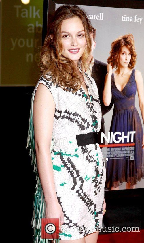 Leighton Meester New York premiere of 'Date Night'...