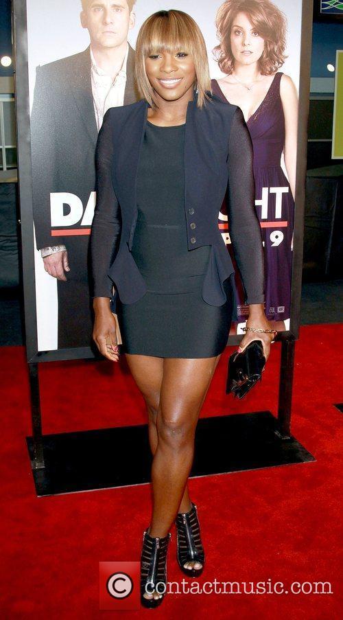 Serena Williams New York premiere of 'Date Night'...