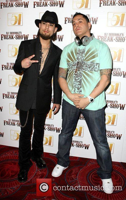 Dave Navarro and DJ Skribble Rock legend Dave...