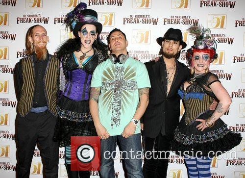 Dave Navarro and DJ Skribble with the Freak...