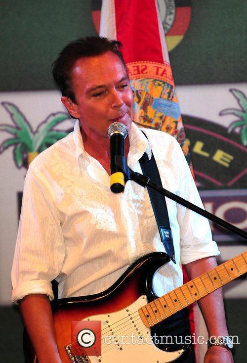 David Cassidy performing live at Seminole Casino Coconut...