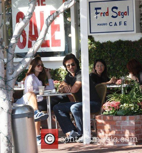 David Copperfield stops for lunch after shopping at...