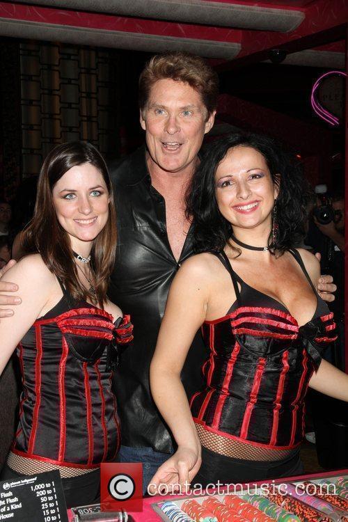 David Hasselhoff at the Planet Hollywood Casino Las...